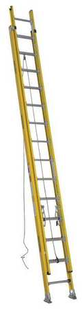 Extension Ladder,  Fiberglass,  28 ft. ,  IAA