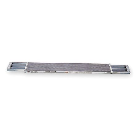 Extension Plank, 10 ft. L, 2 In. H