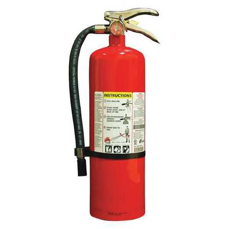 Fire Extingshr, Dry Chemical, ABC, 4A:80B:C