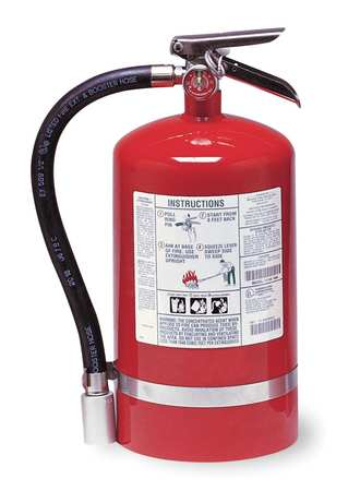 Fire Extinguisher, Halotron, ABC, 1A:10B:C