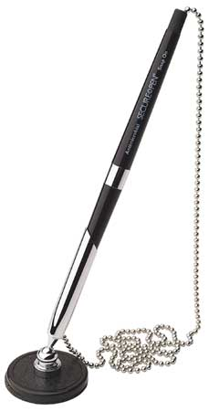 Stick Security Pen,  Fine 0.8 mm,  Black