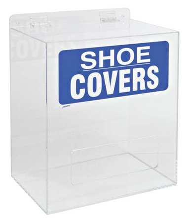 Shoe/Boot Cover Dispenser, Arcylic, Clear