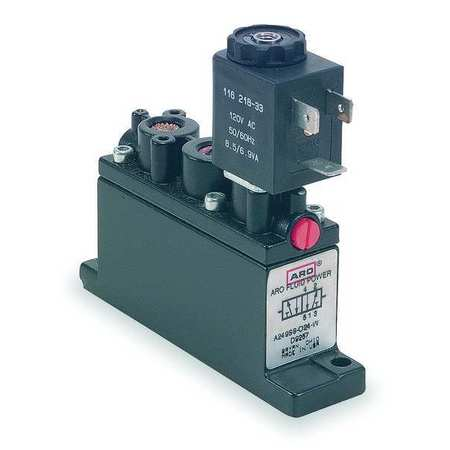 Solenoid Air Control Valve, 1/4 In, 24VDC