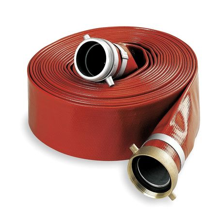 "1-1/2"" ID x 25 ft PVC Water Discharge Hose RD"