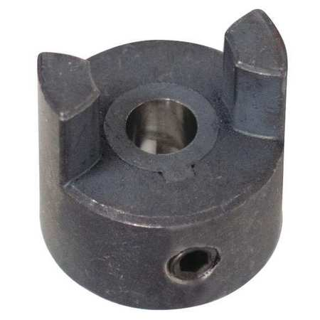 "Jaw Coupling Hub, L050, Sint Iron, 1/4"", NK"