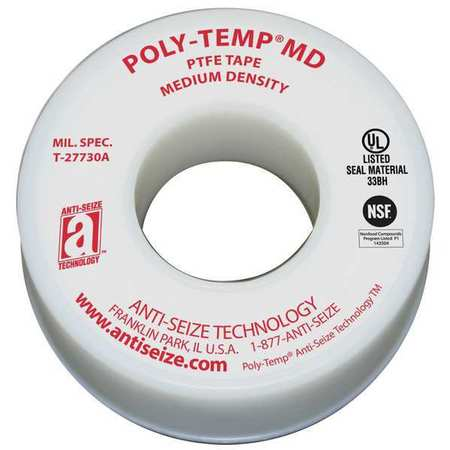 Sealant Tape, 1/2 In.W, 520 In.L