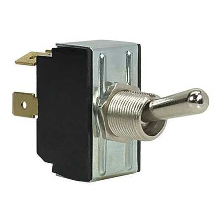 Toggle Switch, SPST, 10A @ 250V, QuikConnct