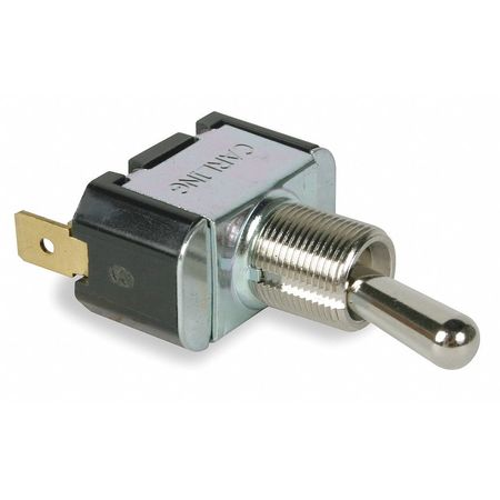 Toggle Switch, SPDT, 10A @ 250V, QuikConnct