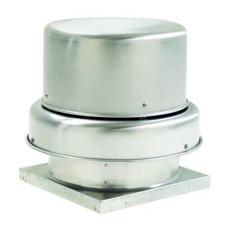Downblast Vent, Direct Drive, 10-1/2 In