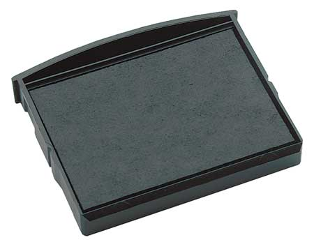 Stamp Pad, Black, 2 1/2 In W x 2 1/2 L