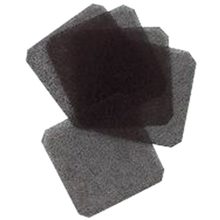 Air Filter,  30 PPI, Fan Size 3-1/8In, PK5