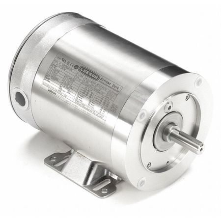 Washdown Motor, 3 Ph, TENV, 1 HP, 3450 rpm
