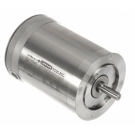 Washdown Motor, 3 Ph, TENV, 3/4 HP, 1725 rpm