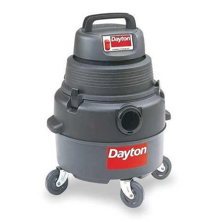 Wet/Dry Vacuum, Air Flow 75 cfm, 2 HP