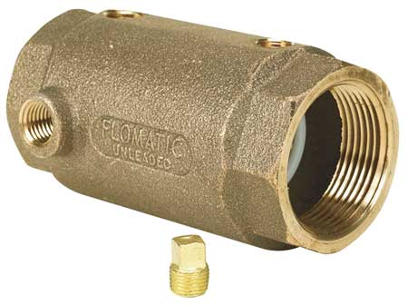 "1-1/4"" FNPT Lead Free Brass Check Valve"
