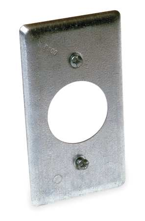 Electrical Box Cover, Square, 4-1/4 in.