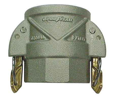 Coupler with Locking Arms, 4 x 4In, 250psi