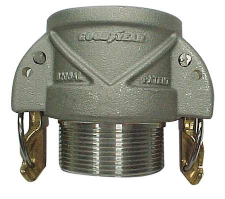 Coupler with Locking Arms, 2 x 2In, 250psi