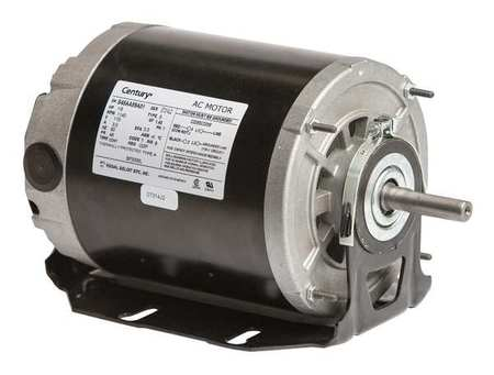 Motor, Split Ph, 1/8 HP, 1140, 115V, 48Z, ODP