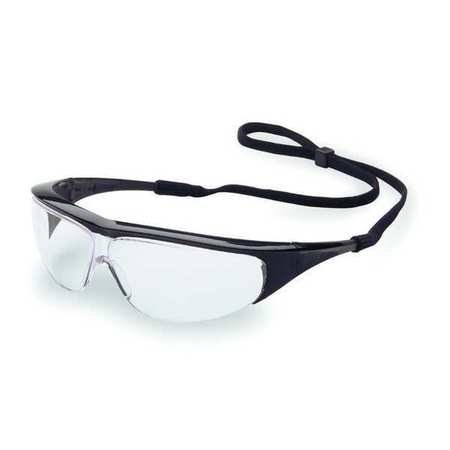 Willson Clear Safety Glasses,  Scratch-Resistant,  Wraparound