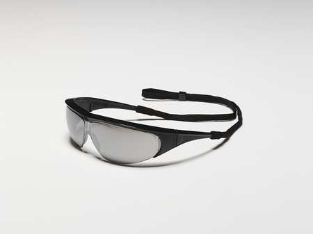 Willson Silver Mirror Safety Glasses,  Scratch-Resistant,  Wraparound