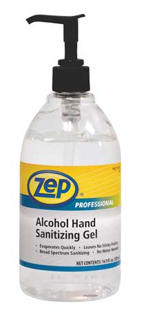 Hand Sanitizer, Size 500mL, Gel, PK12