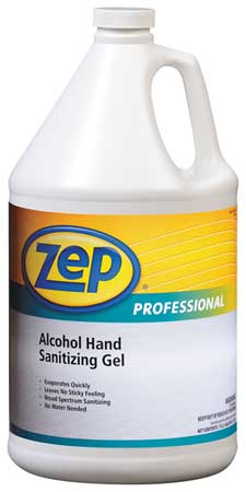 Hand Sanitizer, Size 1 gal., Gel, PK4