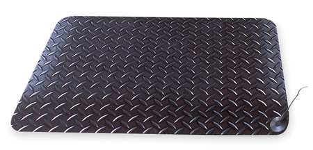 Static Dissipative Mat, Black, 2ft. x 3ft.