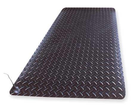 Static Dissipative Mat, Black, 3ft. x 5ft.