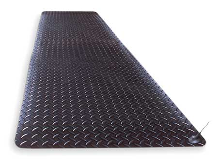 Static Dissipative Mat, Black, 3ft.x12ft.