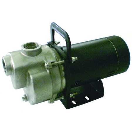 Transfer Pump,  1 HP,  Aluminum
