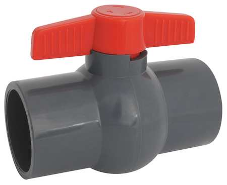 "2"" Socket PVC Ball Valve Inline"