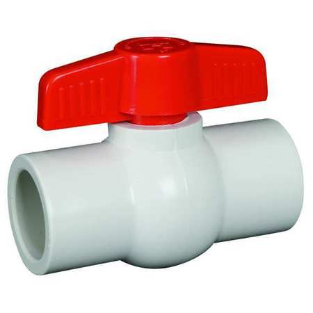 "1-1/4"" Socket PVC Ball Valve Inline"