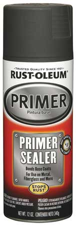 Automotive Primer Sealer, Gray, 12 oz.