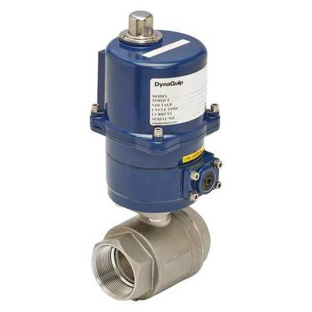 "2"" FNPT Stainless Steel Electronic Ball Valve 2-Way"