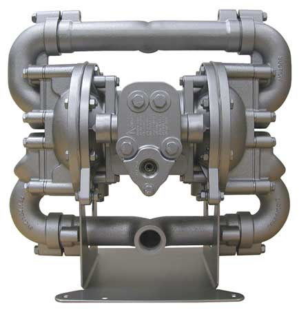"1"" Aluminum Air Double Diaphragm Pump 70 GPM 190F"