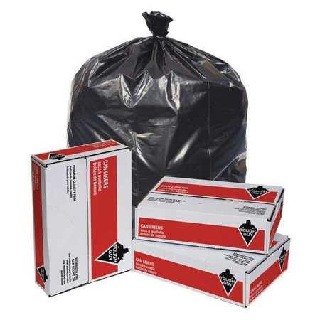 Trash Bags,  50 gal.,  2.5 mil,  PK50