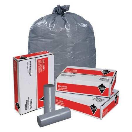 Trash Bags,  56 gal.,  1.5 mil,  PK100