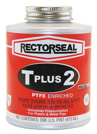 Thread Sealant with PTFE, 16 oz., White