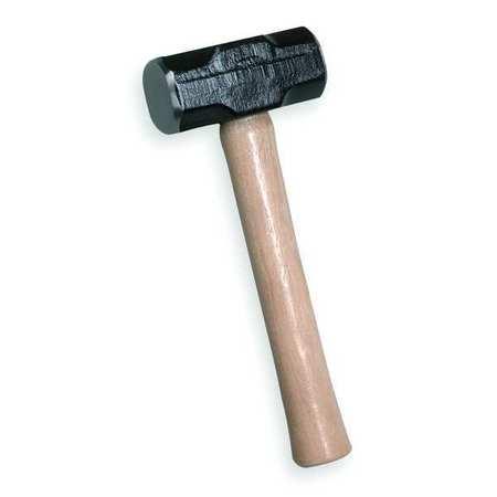 Sledge Hammer, 3 lb., 15-1/4in OAL, Hickory