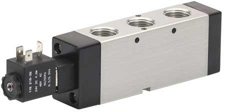 Solenoid Air Control Valve, 1/2 In, 24VDC