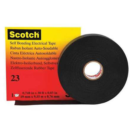 "Splicing Tape, 30 mil, 2"" x 30 ft., Black"