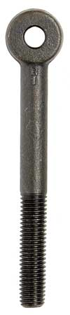 Rod End, 1/2-13x5 In, 3/8 Hole, PK10