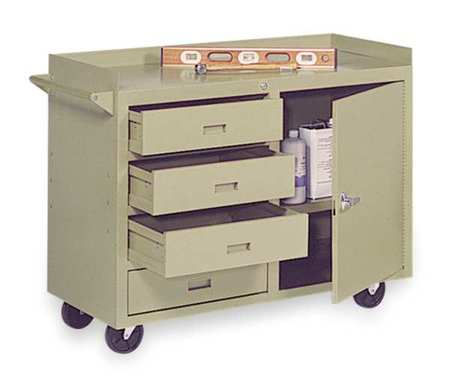 Mobile Service Bench, 22 In. L, 45 In. W