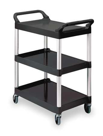 Utility Cart, 200 lb. Load Cap., Plastic