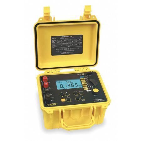 Micro Ohm Meter, 0.1u Ohms-2500 Ohms