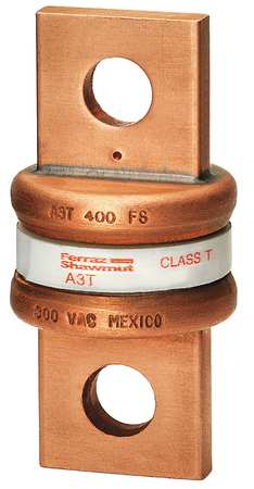 400A Fast Acting Glass/Melamine Class T Fuse 300VAC/160DC