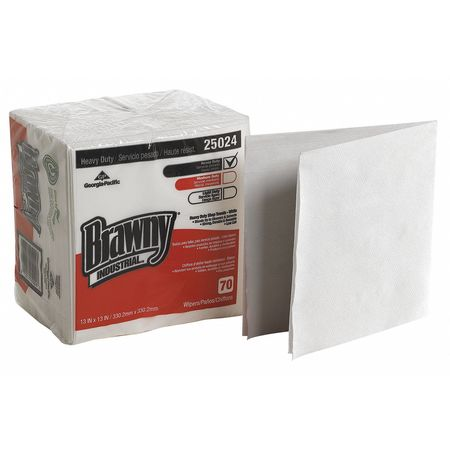 "Disposable Wipes,  13"" x 13"",  12 Pack,  70 Sheets/ Pack"