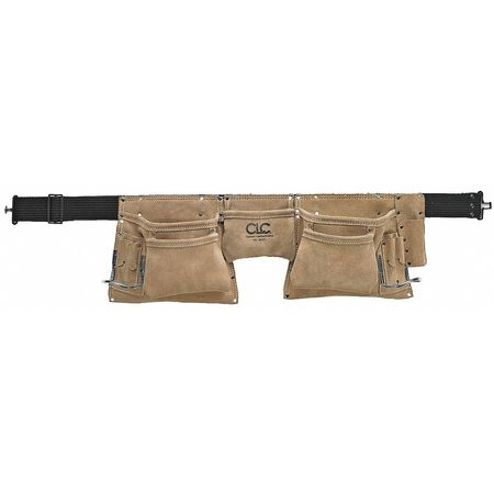"29-46"" Heavy Duty Work Apron,  Leather"