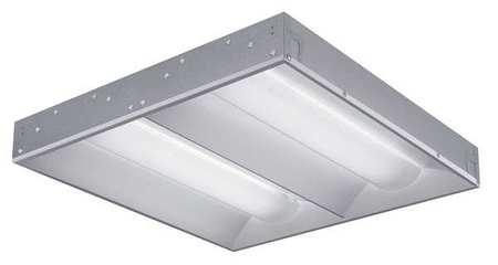 LED Recessed Troffer, 3500K, 38W, 120-277V